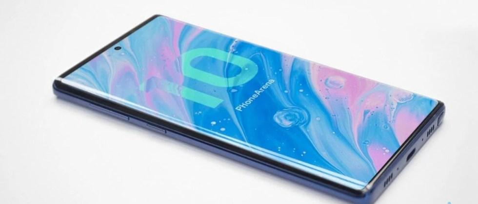 Galaxy Note 10 vazamentos mostram possível design e câmera do aparelho