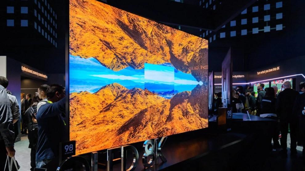 TV 8K Samsung QLED 8k