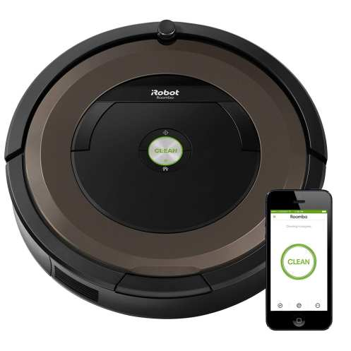 O iRobot vem com um sistema IoT integrado com sistemas Amazon e Google