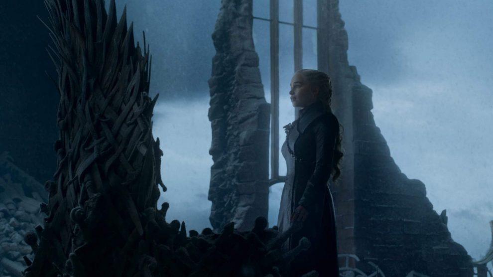 Daenerys no último episódio de Game of Thrones.