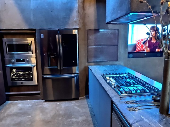 Cozinha conectada LG na CASACOR 2019