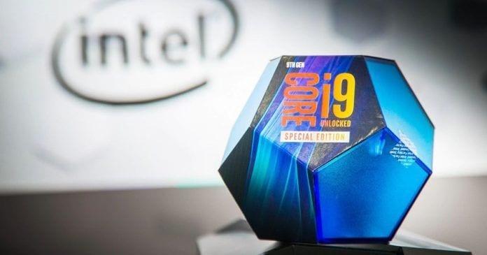 Imagem de divulgação do novo i9-9900KS