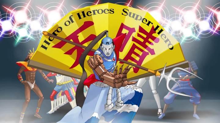 Nickel Samurai, uma das sátiras presentes durante Phoenix Wright.