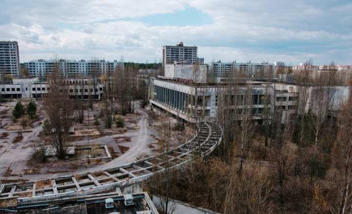 Pripyat a cidade fantasma de Chernobyl