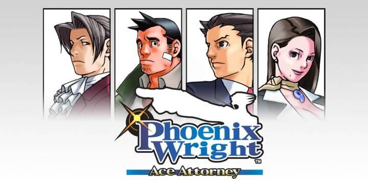 Foto mostra a capa do Phoenix Wright: Ace Attorney, lançado pra Nintendo DS