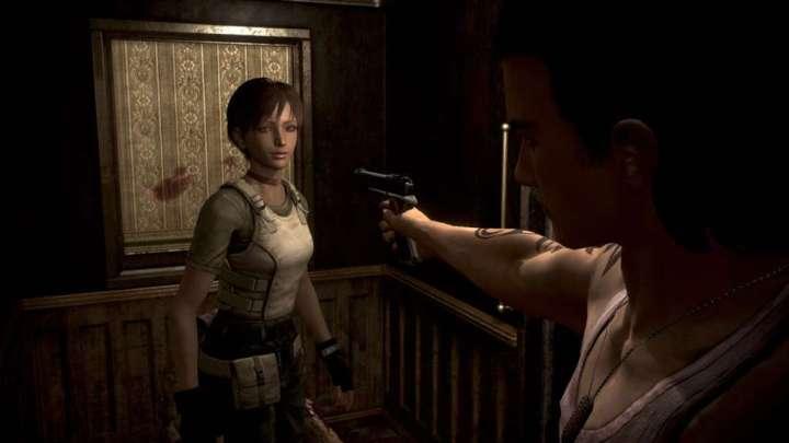 O clima de tensão comprova que Billy e Rebecca não parecem se dar muito bem nos primeiros momentos de Resident Evil 0.