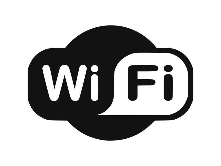 Foto com a logo do Wi-Fi, simbolizando o Ying-Yang, o balanço perfeito.