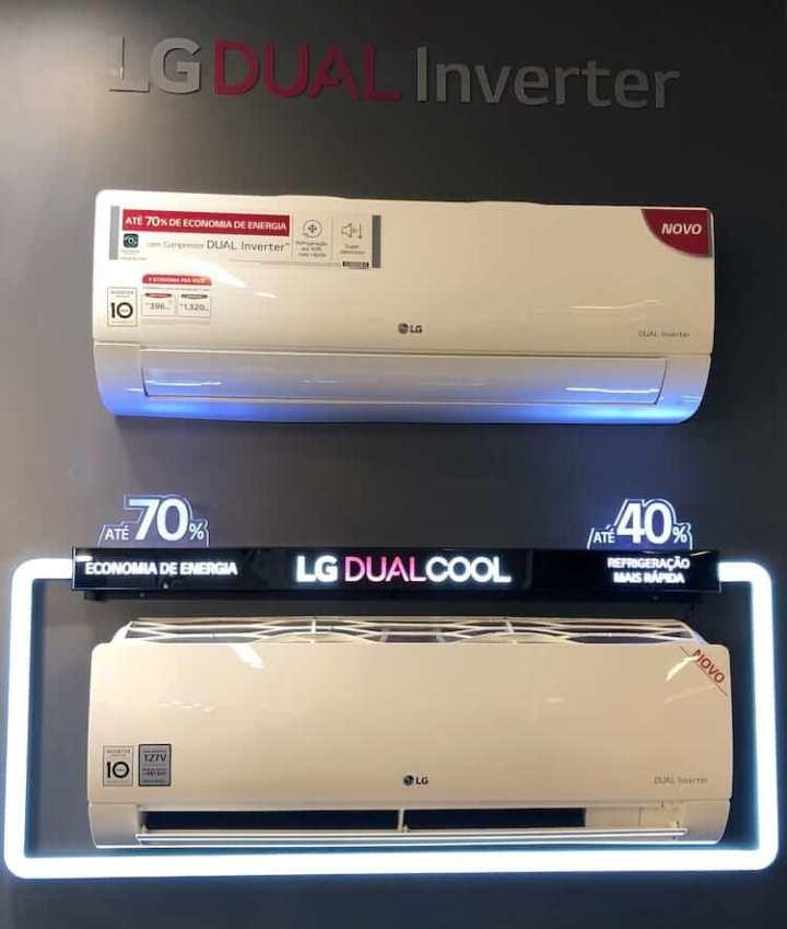 Ar-condicionado Split Dual Inverter 127V da LG