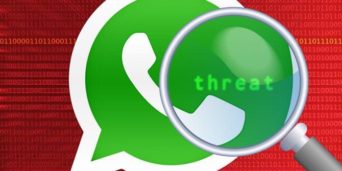 O spyware era instalado no smartphone através de uma chamada pelo WhatsApp