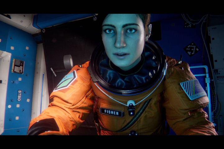 Apesar de controlar SAM, a Dra. Emma Fisher é a heroína do game.
