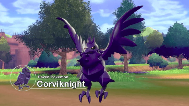 Corviknight, novo Pokémon