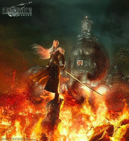 Final Fantasy 7 marcou presença na E3 2019