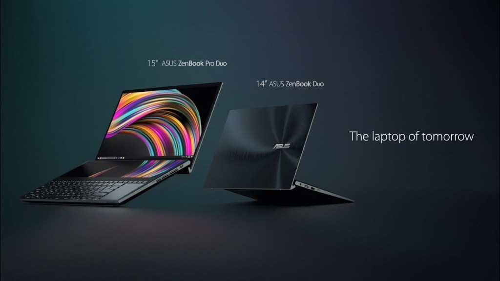 Dois modelos do ZenBook Pro Duo