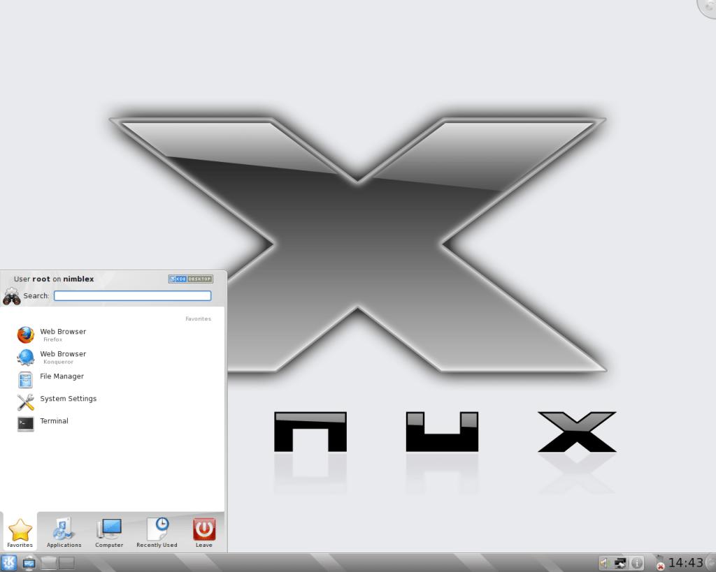 NimbleX Linux leves
