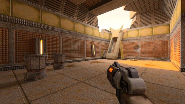 Quake II RTX com sua iluminação recalculada