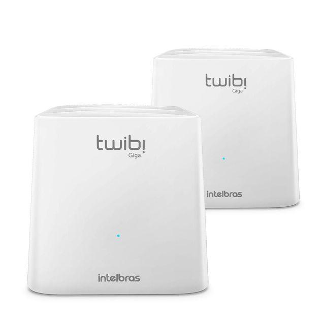 Twibi Giga da Intelbras traz conexão AC Dual Band e suporte para planos de internet acima de 100 MB