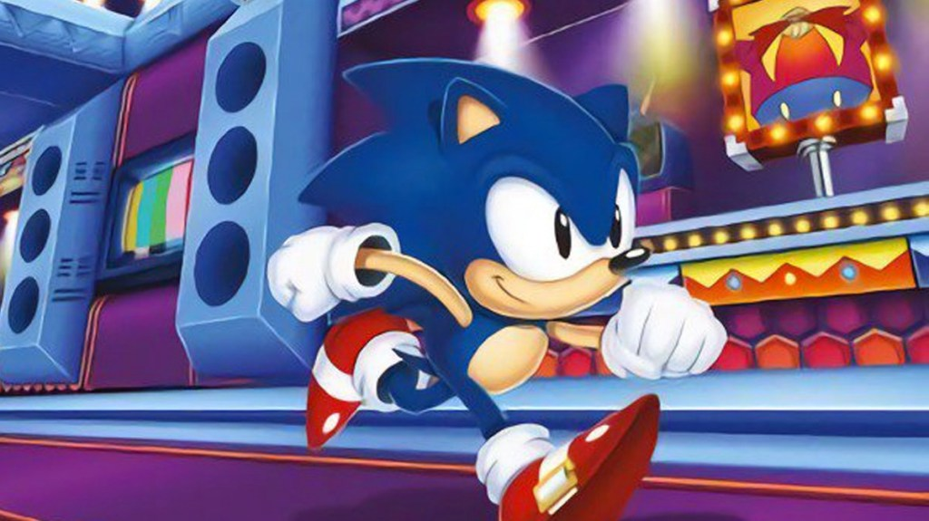 Imagine um jogo do ouriço azul guiado por suas fantásticas músicas!