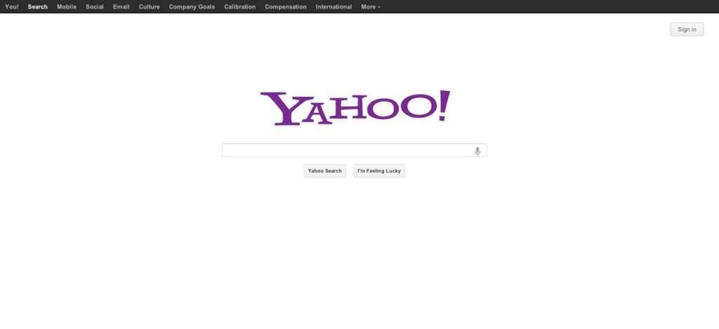 yahoo buscadores alternativas ao Google