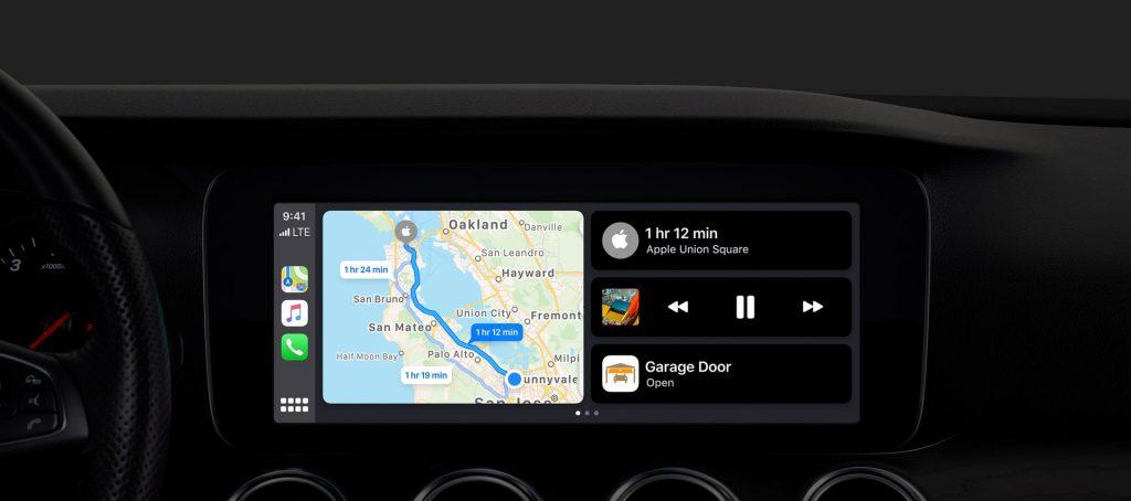 CarPlay foi reformulado e terá suporte à Siri