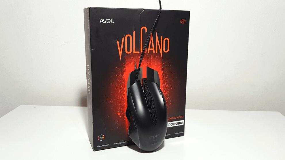 Avell Volcano é um mouse gamer de entrada com configurações interessantes