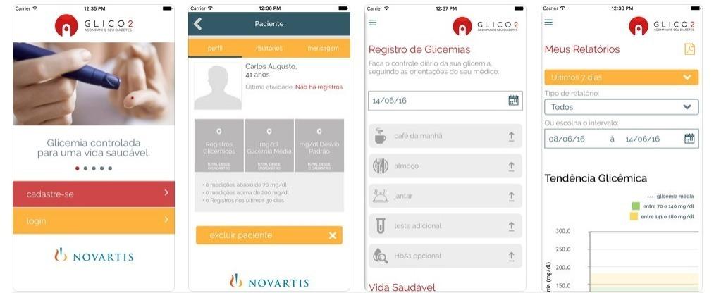 Glico 2, Novartis tarafından diyabet tedavisi ve kontrolünde doktorları ve hastaları desteklemek için geliştirilen bir uygulamadır.