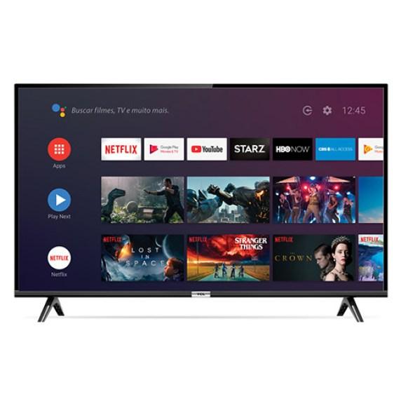 Todos os recursos do Android TV estão presentes aqui, até Chromecast integrado