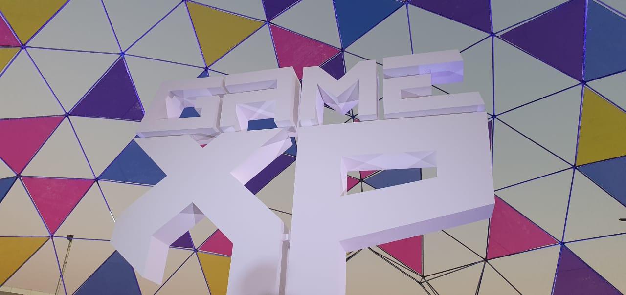 Logo da Game XP na edição de 2019.