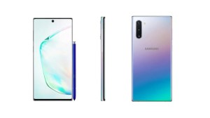 Galaxy Note 10: visual vaza e revela notch minúsculo 9