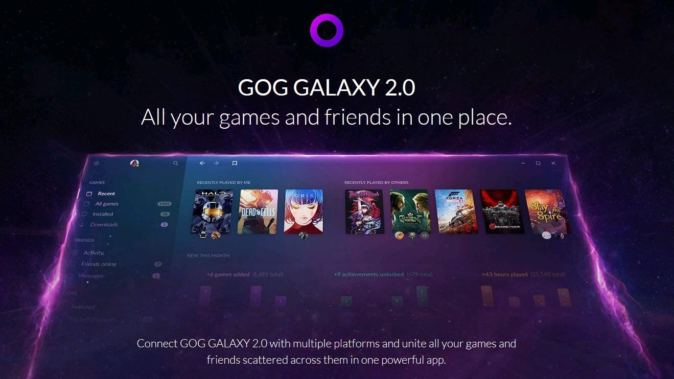 GOG Galaxy 2.0: plataforma une todos os seus games em um único lugar 6