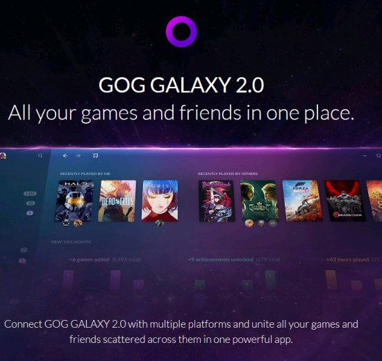 GOG Galaxy 2.0: plataforma une todos os seus games em um único lugar 7