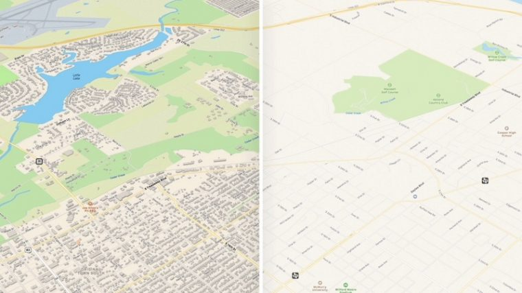 O Google Maps no novo iOS 13 recebeu uma cobertura mais ampla e detalhará melhor as rodovias