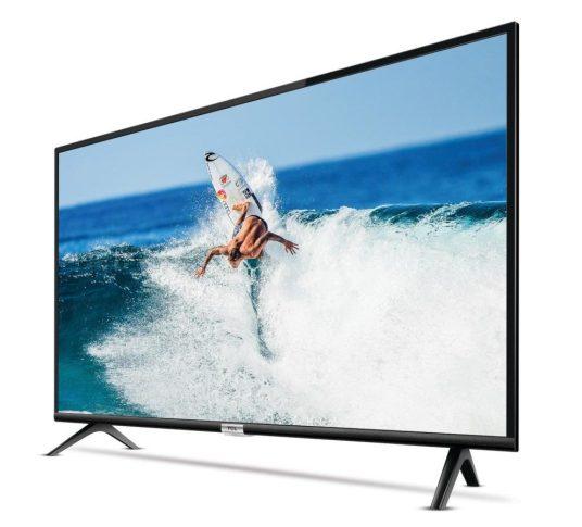 Exibição de imagem na smart TV TCL S6500