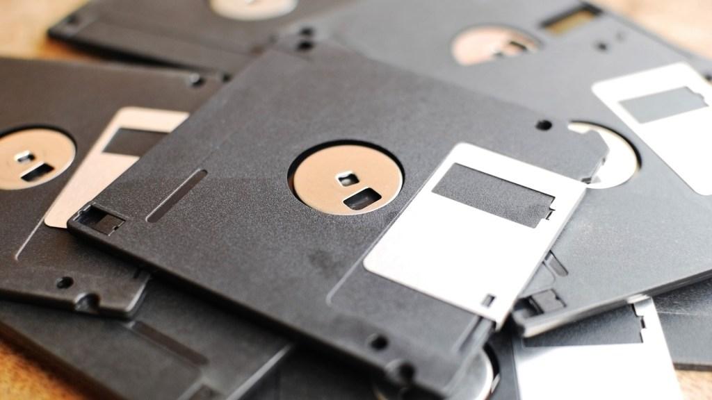 disquete tecnologias antigas