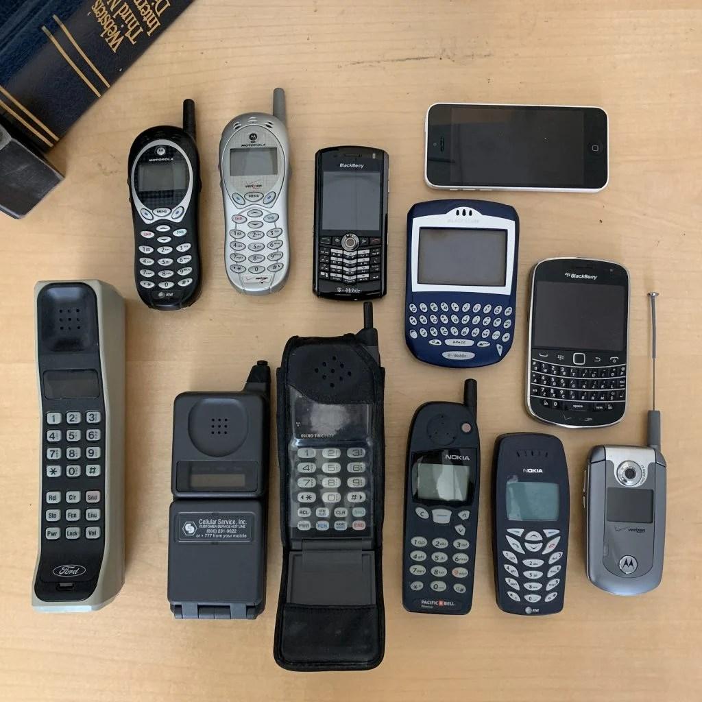celular tijolão tecnologias antigas