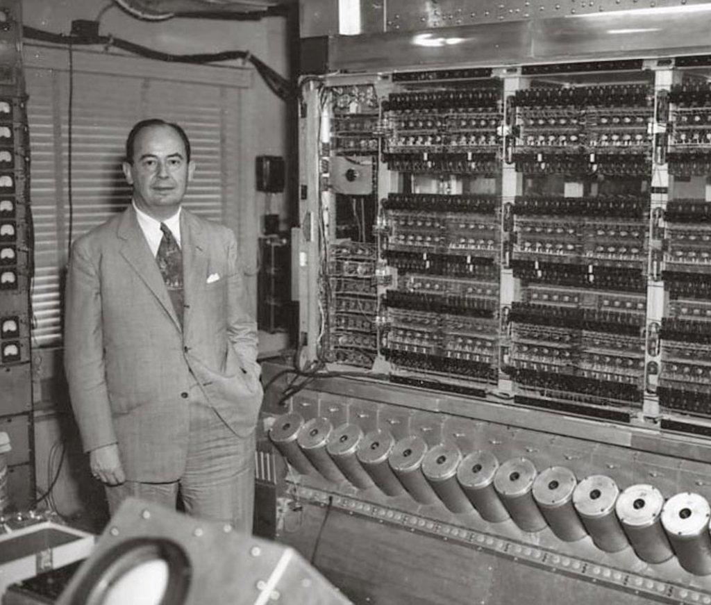 John von Neumann história do computador