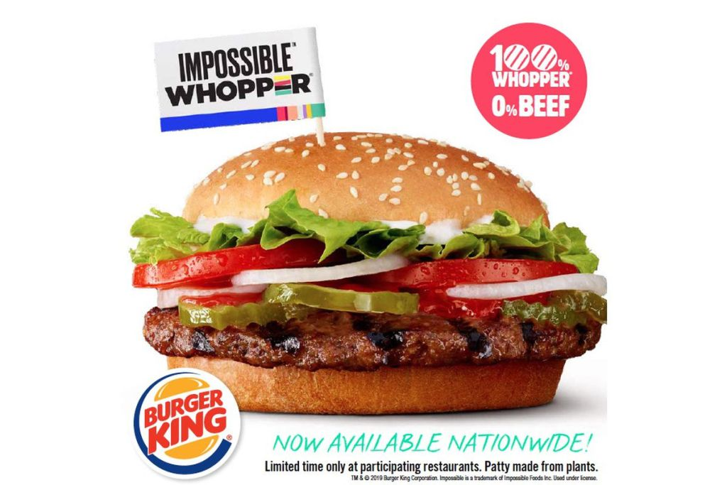 Foodtech -Impossible Whopper