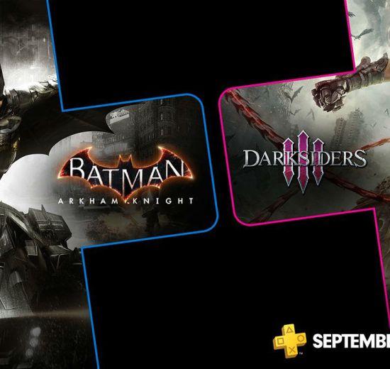 PS Plus de setembro terá Batman e Darksiders 3 7