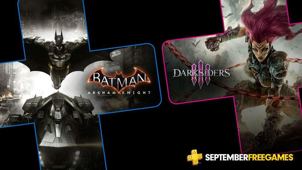 PS Plus de setembro terá Batman e Darksiders 3 6
