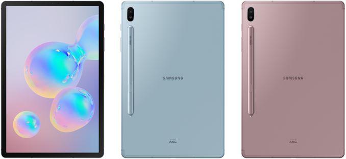 Galaxy Tab S6 conta com câmera dupla na parte traseira