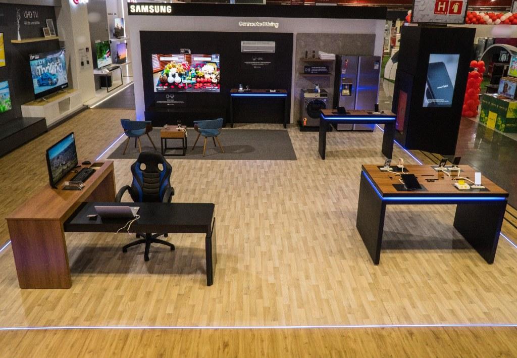 Casa Conectada da Samsung está à mostra na High Design