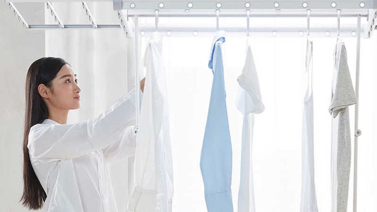 Conheça o varal inteligente da Xiaomi que seca roupas sozinho 3