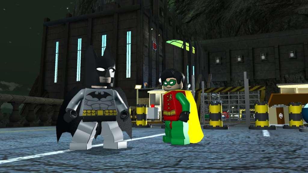 Imagem do primeiro jogo da franquia LEGO Batman