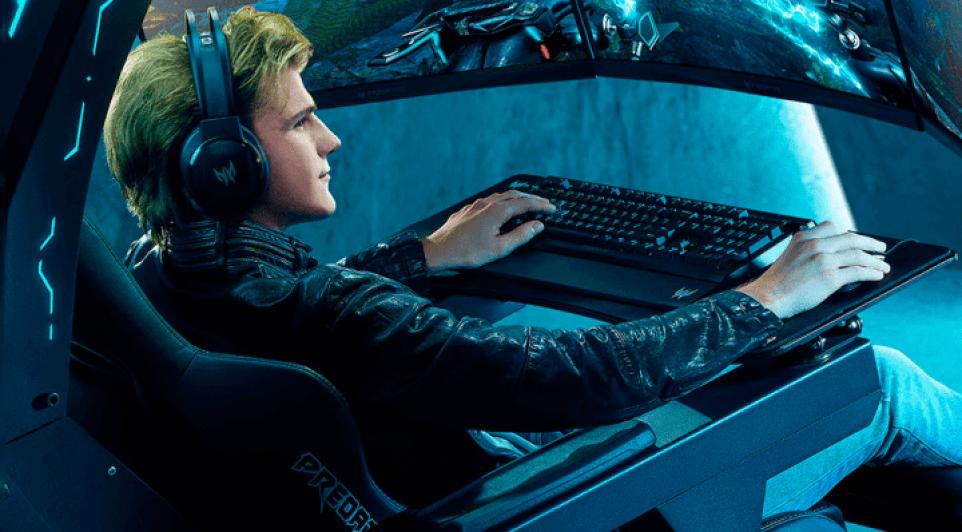 A Predator Thronos Air é a cadeira de jogo da Acer, um seutp gamer para entusiastas hard core