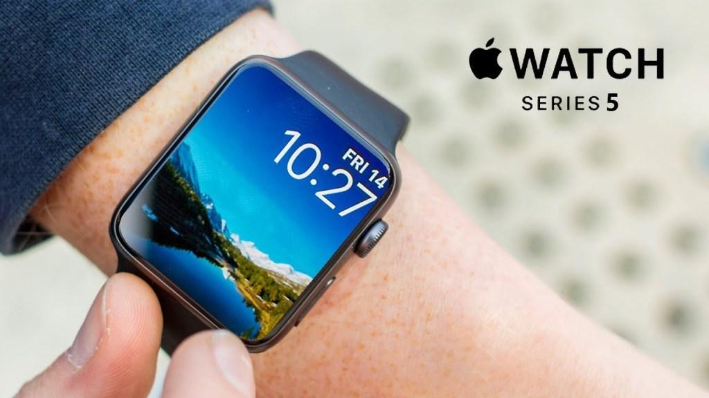 Com o novo Apple Watch 5, novos sistemas de segurança e novos sistemas de valorização da saúde estarão em alta