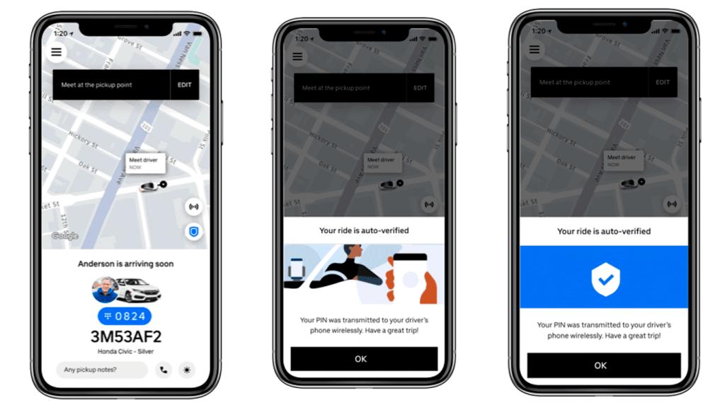 Segurança no Uber