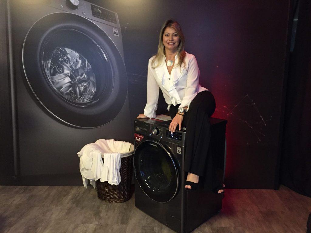 Kati Dias, gerente executiva de Linha Branca da LG do Brasil