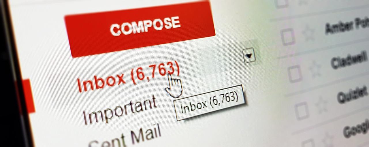 como criar filtros no gmail capa