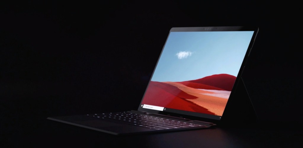 O novo Surface Pro X é considerado o mais fino da linha Surface