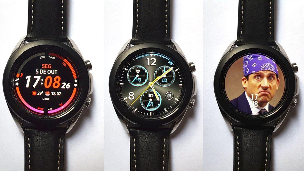 galaxy watch 3 facewatch personalizado