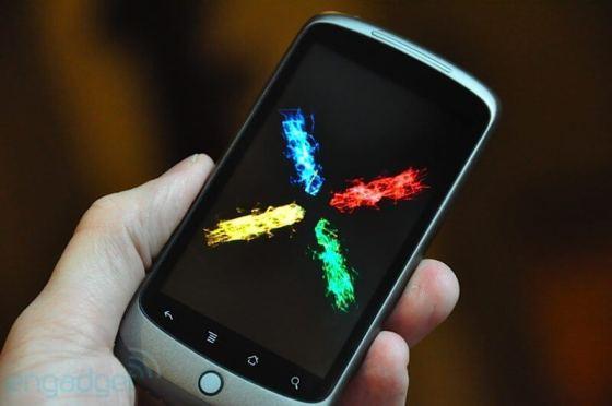 eng nexus one12 - Nexus One passa a aceitar a tecnologia Multi-Touch.